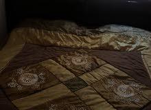 تخت مزدوج مع فرشه