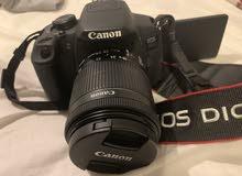 كاميرا كانون موديل 700d