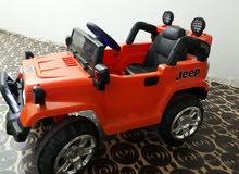 سيارة اطفال للبيع جيب شحن