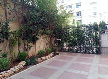 شقة ارضية مميزة للبيع في دير غبار 140م مع حديقة وترسات 200م تشطيب سوبر ديلوكس