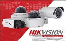 كاميرات مراقبه داخلية وخارجية واجهزة مراقبة الدوام واجهزة التحكم