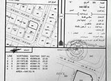 ارض سكنية كورنر في الراكي بسعر جيد