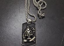 wild skull necklace