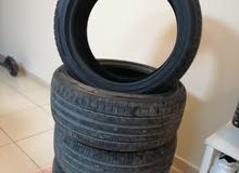 4 New Tracmax tyres (200km only)