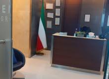 مكتب للايجار بالعاصمة ابراج مزايا