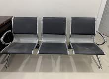كرسي استقبال لثلاث اشخاص للبيع
