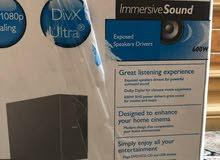 للبيع سماعات مع جهاز DVD