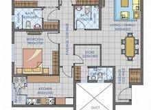 شقة فاخرة تتكون من 3 غرف و صاله للبيع في الغبرة ملاصقة فندق شيدي مسقط
