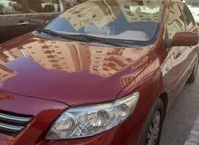 تويوتا كورولا 2009 للبيع