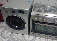 washing machine and cooking range