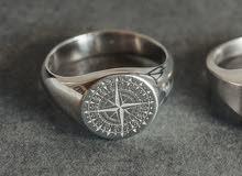 خاتم بوصلة صنع في ألمانيا