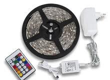 شريط اضاءة لتزيين الغرفة او الصالون