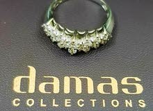 Damas collection 18k gold Diamond ring