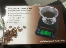 ميزان الكتروني لتحضير القهوة