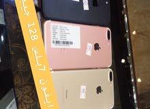ايفون 7بلس 128 جيبي و256 جيبي مستعمل