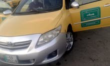 Yellow Toyota Corolla 2010 for sale