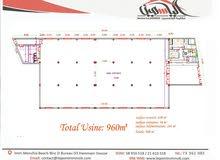 مصنع طابق أرضي بالمنطقة الصناعية سيدي عبد الحميد