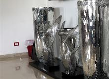 decor silver for sale and cup board..