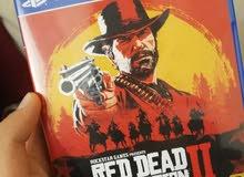 دسكة red dead redemption 2 للبيع او تبديل بدسكة بااك اوبس 4