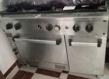 للبيع فرن كبير يصلح للمطابخ الكبيره مستعمل