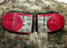 FJ rear lights / اسطابات اف جي