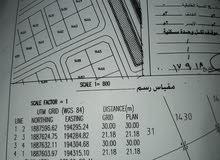 ارض 635م للبيع - جرزيز التوزيع الجديد..