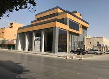 للايجار 3 مكاتب تشطيب راقي(عمارة جديدة الملز) شارع الاربعين (ثلاثة شوارع) مقابل المستشفى الوطنى