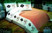 ملايات سرير تركي قطن بيور