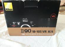 كاميراNikon d90 مستعمل مع ستاند