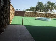 شاليه خور الحمام، صحم على الشارع العام