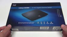 link sys Gigabit switch 8 port