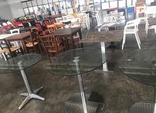 طاولات وكراسي