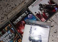 gta5--infamous2--assassinscreed2--call of duty mw3