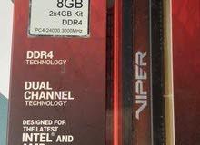 رام Patriot Viper DDR4 4*2 3000MHz