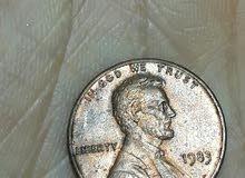 1 سنت امريكي 1983