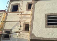 بناء عظم وملاحق تشطيب ترميم هدم تكسير صيانة منازل ديكورات