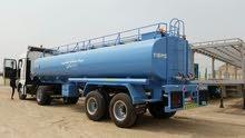 مقطورة صهريج مياه 8000 جالون