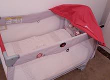 سرير وحباس اطفال للبيع استعمال بسيط