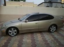 Gold Lexus GS 2000 for sale