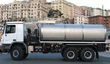 مطلوب شاحنة مياه