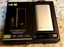 باور بنك اصلي قوته 20000 power system  X Maxمن شركة kp