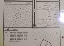 ارض للبيع كورنر في النهضة الجديده مساحتها 644