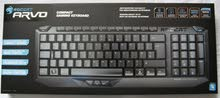 ROCCAT ARVO Compact Gaming Keyboard, Black