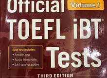 Official Toefl iBT Tests Volume 1 (3rd edition)