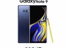 جهاز سامسونج Note 9 جديد للبيع