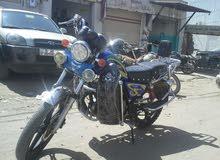 دراجة نارية نوع (الساحر)175cc القوة والمتانه نظيف