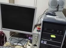 كمبيوتر hp استعمال خفيف للبيع بحالة جيدة جدااا