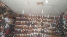 للبيع     محل احذيه رجالي شبابي ولادي .