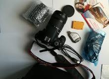 عاجل وللبيع بصفه عاجله كاميرا كانون مستخدمه 4مرات