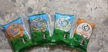 معمل لتعبئة المواد الغذائية والرز العنبر